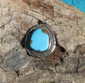 Sterling Silver Turquoise Pendant SSP115