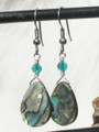 Abalone Teardrop Earrings ER213