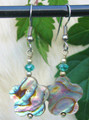 Abalone Flower Earrings ER210