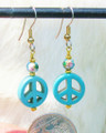 Peace Symbol Earrings ER230