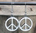 Peace Symbol Earrings ER284
