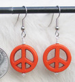 Peace Symbol Earrings ER257
