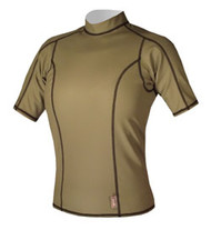 Women's Short Sleeve EXO Top - Olive (E91)