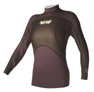 Women's 1.5mm L/S NeoSkin - Jet Black (F06)