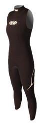 Women's Over Drive 3/2mm Sleeveless - Black (F61)
