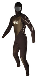 Men's Past Season 6/4mm Charger Hooded Fullsuit - Black (F90)
