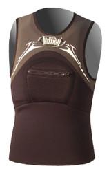 *Pullover Kite Vest - Jet Black (G05)