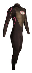 Women's Past Season 4/3mm Charger Fullsuit - Black/Pink (H71)