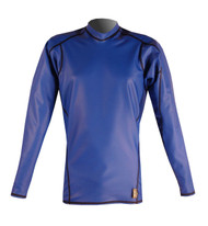 Men's Long Sleeve EXO Skin Stretch Top - Cobalt (J50)