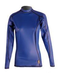 Women's Long Sleeve EXO Skin Stretch Top - Cobalt (J60)