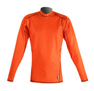 Men's Long Sleeve EXO Skin Stretch Top - Orange (J49)