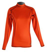 Women's Long Sleeve EXO Skin Stretch Top - Orange (J59)