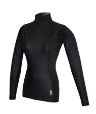 Women's Long Sleeve EXO Lite Top - Black (J07)