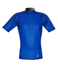 Men's Short Sleeve EXO Skin Stretch Top - Cobalt (J55)