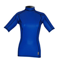 Women's Short Sleeve EXO Skin Stretch Top is great for water play.