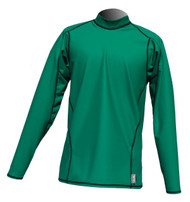 Men's Long Sleeve EXO Skin Stretch Top - Green (J47)