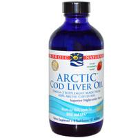 Arctic Cod Liver Oil 8oz Strawberry