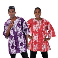 African Batik Dashiki (Unisex)