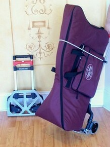 Folding Lever Harp Cart