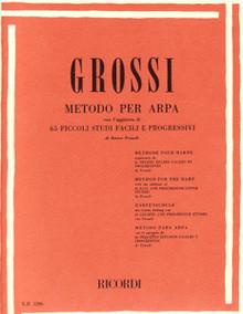 "Grossi: Method For the Harp ""Metodo Per Arpa"""