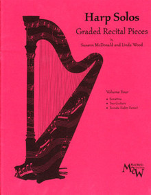 Harp Solos Graded Recital Pieces- Volume 4