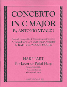 Concerto in C Major (Harp part) by Vivaldi / Moore