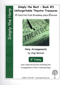 Simply the Best- Book #3 Unforgettable Theatre Treasures by Angi Bemiss (Eb tuning)
