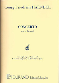 Concerto in Bb by Handel / Grandjany