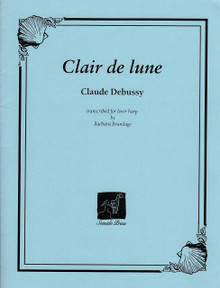 Clair de Lune (for lever harp) by Debussy/ Barbara Brundage