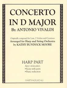 Concerto in D Major (harp part)  by Vivaldi / Moore