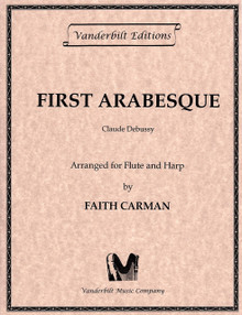First Arabesque (for flute and pedal harp) by Debussy / Faith Carmen