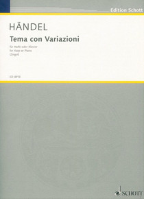 Tema con variazione (Theme and Variations) by Handel