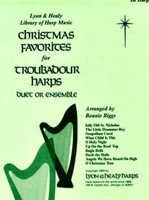 Christmas Favorites for Troubadour Harps by Bonnie Biggs
