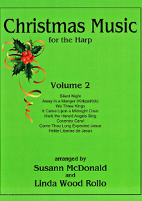 Christmas Music for the Harp V.2 arr McDonald, Wood