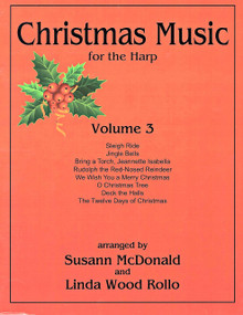 Christmas Music for the Harp V.3 arr McDonald, Wood