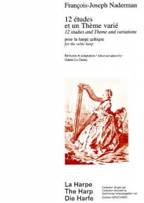 12 Etudes et un Theme varie by Francois-Joseph Naderman