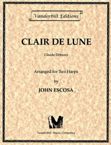 Clair de Lune (for two harps) by Debussy/ Escosa