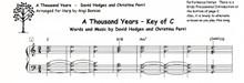 A Thousand Years by Christina Perri / Angi Bemiss