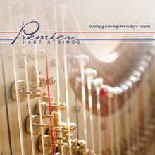 2nd Octave- Premier Harp Gut Strings Set