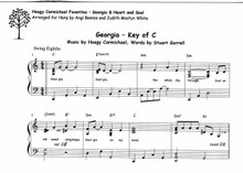 Hoagy Carmichael Favorites- Georgia and Heart and Soul by Carmichael / Angi Bemiss