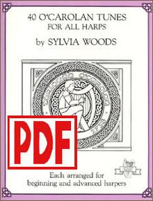 PDF 40 O'Carolan Tunes by Sylvia Woods