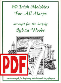 PDF 50 Irish Melodies for All Harps by Sylvia Woods