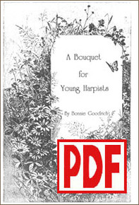 PDF A Bouquet for Young Harpists by Bonnie Goodrich