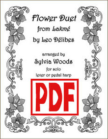 PDF Flower Duet from Lakme by Sylvia Woods
