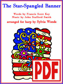 PDF The Star-Spangled Banner arr. by Sylvia Woods