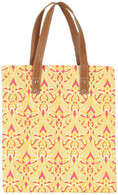 Clare Orange flat tote - FINAL SALE