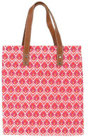 Dorset Red flat tote - FINAL SALE