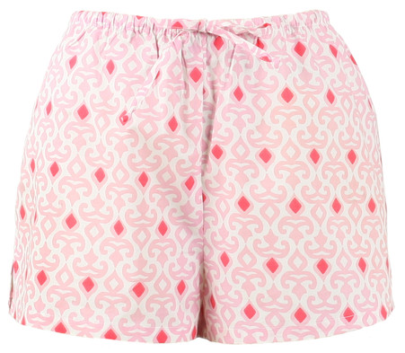 Boxers in all cotton fabric for women