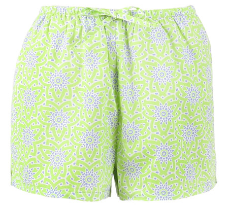 100% cotton sleep shorts for ladies