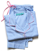 Blue Stripe long sleeve pajama